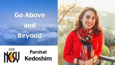 Parshat Kedoshim – Above and Beyond – Alicia Aquino, Canada NCSY