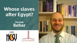 Behar Rabbi Darren Levin