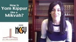 Yom Kippur Shoshana Charnoff